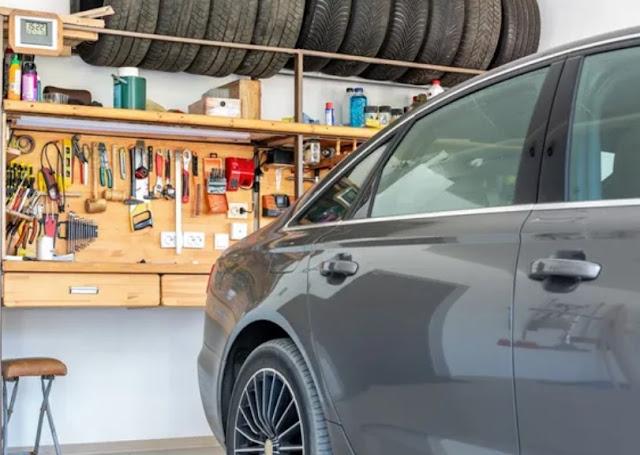 Car, garage