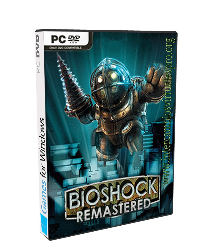 BioShock Remastered poster box cover