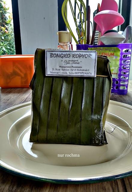 bongko kopyor khas gresik