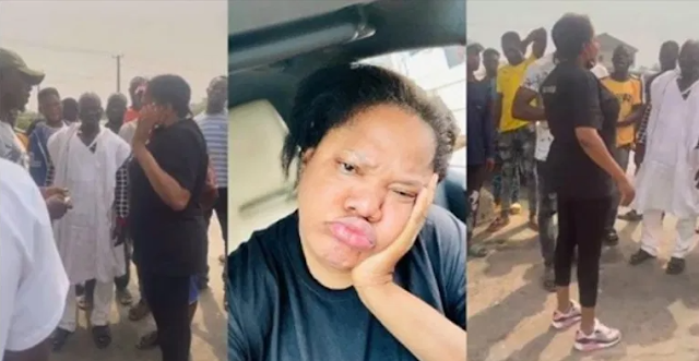 "Nollywood Actress, Toyin Abraham laments about what she passes through in the hands of ""area boys"" (Watch)"