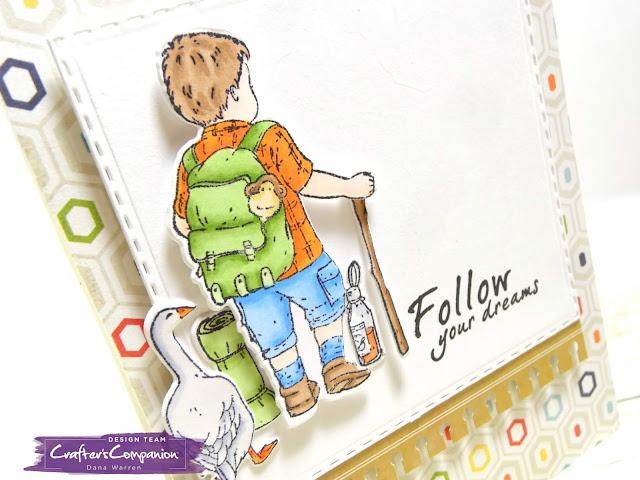 Dana Warren - Kraft Paper Stamps - Crafter's Companion - Spectrum Noir
