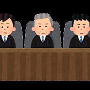 陪審員と裁判官のイラスト