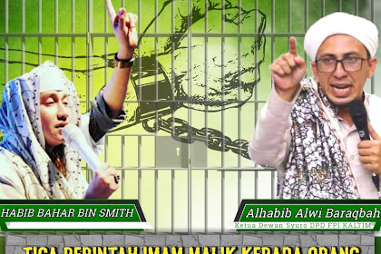 Habib Alwi Baraqbah: Kami Bela Habib Bahar, Ini 3 Perintah Imam Malik Kepada Habib Palsu
