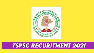 TSPSC Recruitment 2021 » Apply Online Asst & Typist 127 Post