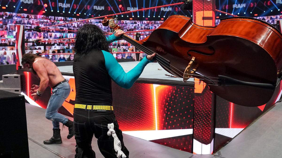 Jeff Hardy and Elias on WWE RAW