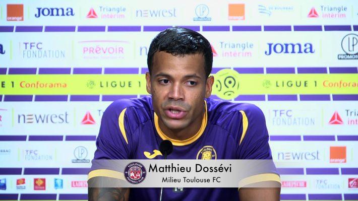 TOULOUSE: BONNE NOUVELLE POUR MATHIEU DOSSEVI