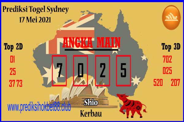 Bocoran Sydney hari ini