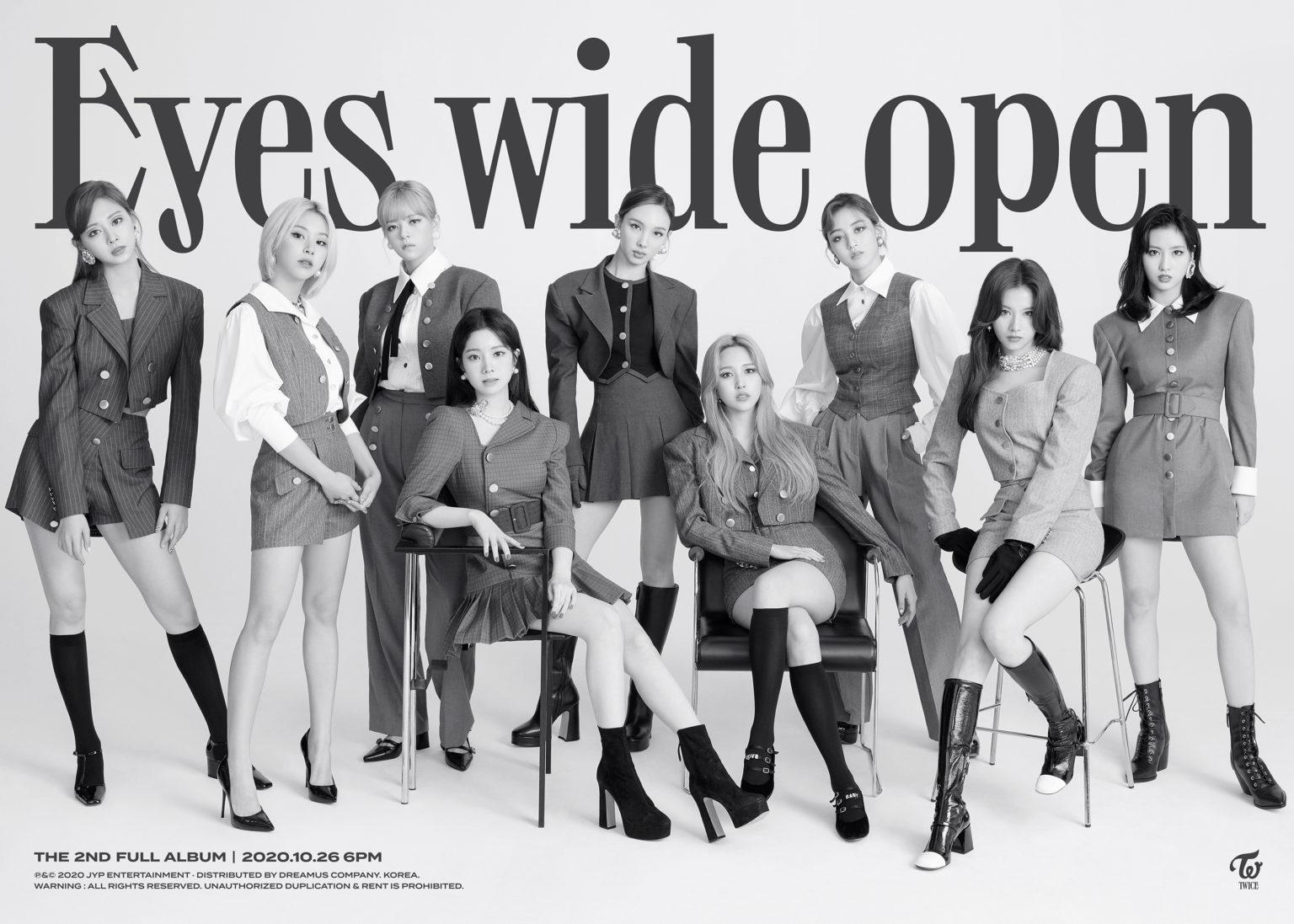 TWICE Looks Elegant on The Teaser Album 'Eyes Wide Open'