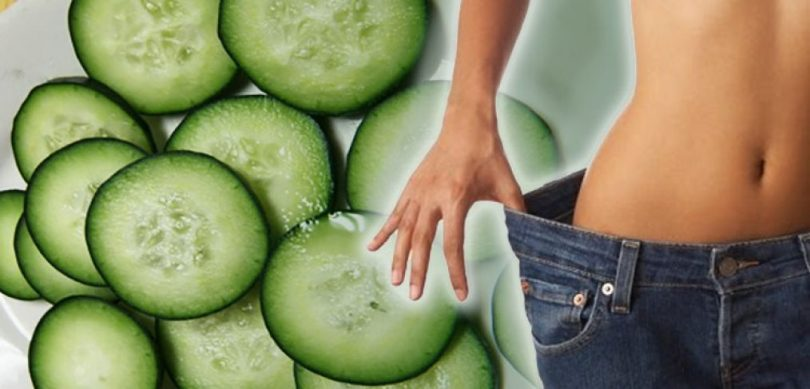 cucumber, weight loss