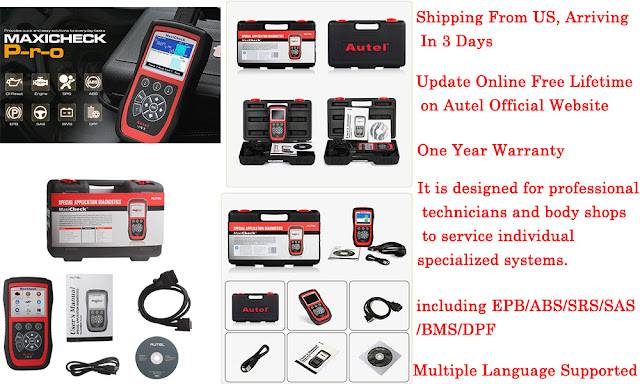 Autel MaxiCheck Pro Scan Tool