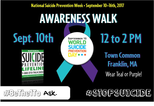 World Suicide Prevention Day - Sep 10