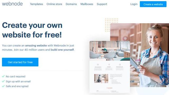 webnode best website builder