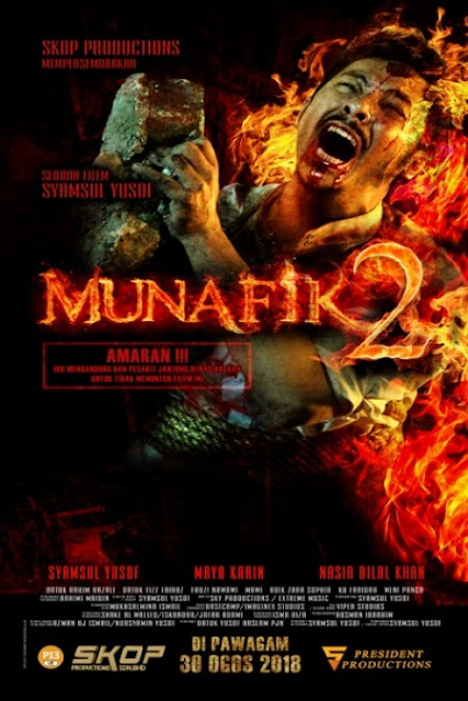 Lagu dan Lirik OST Filem Munafik 2 - Menangislah