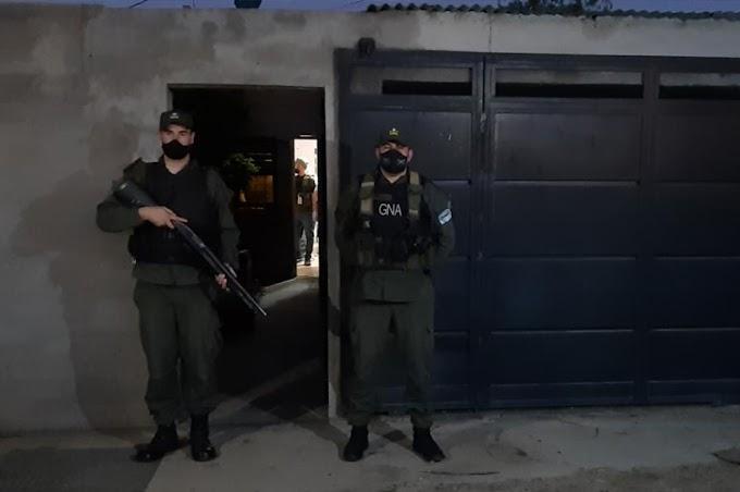 Gendarmes allanaron una vivienda donde se comercializaban estupefacientes