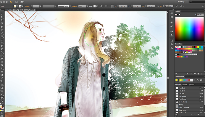 Image result for Adobe illustrator CC 2018
