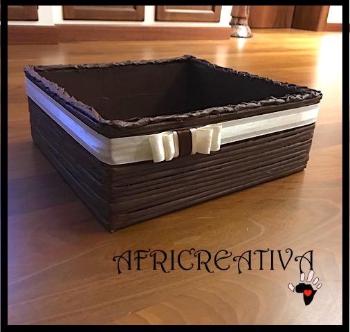 Preferenza AFRICREATIVA: SCATOLA porta tutto (riciclo scatola di scarpe  PQ34