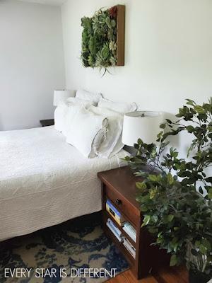 A Minimalist Montessori Home Tour: Entrance to Parents' Room