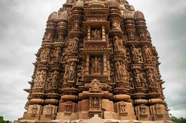Esculturas templos Khajuraho