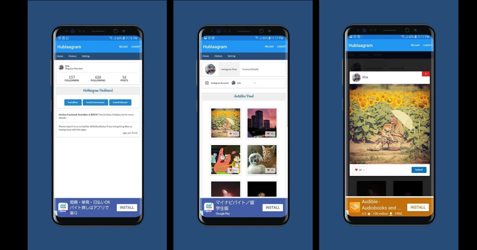 Tips Cara Auto Like Instagram Terbaru Menggunakan Hublaagram