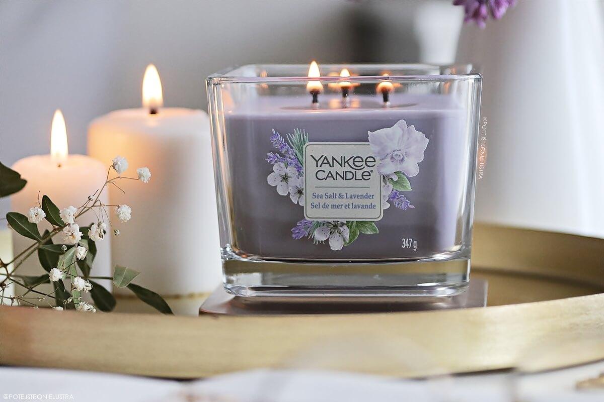 yankee candle sea salt & lavender nowość na lato 2020