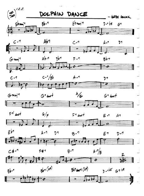 Partitura Violín Herbie Hancock