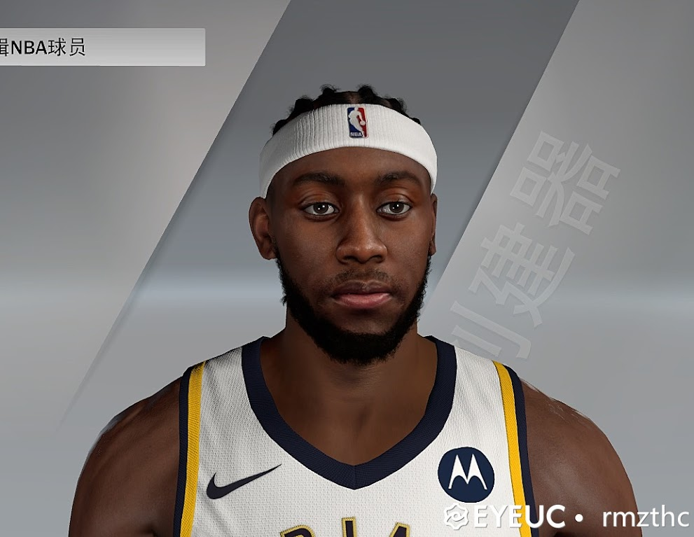 Caris LeVert Cyberface, Braid Hair and Body Model by DP [FIXED HEADBAND] [FOR 2K21]