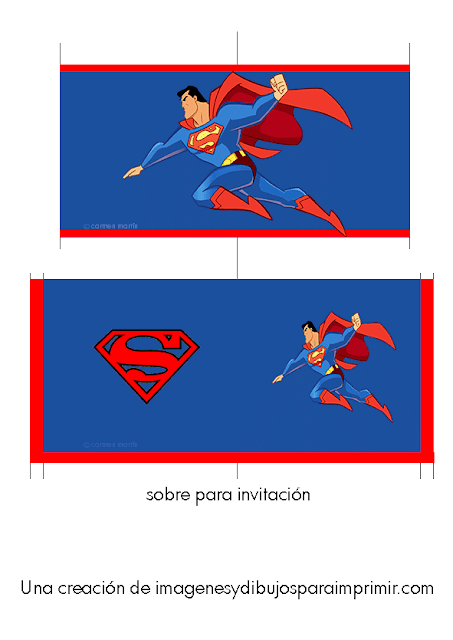 Invitacion de superman
