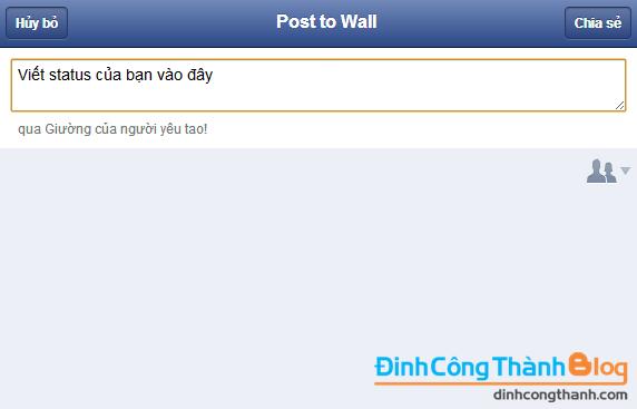 Fake trình duyệt trên wall facebook (+Cách vào facebook 2013) | Việt Nam  Ios DEMO
