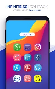Infinite S9 Icon Pack v3.6 [Patched] APK