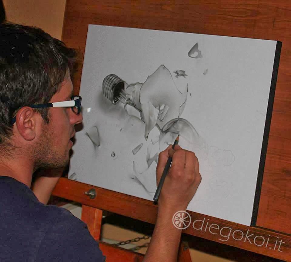 Vejam os impressionantes retratos hiper realistas desenhados a lápis de diego fazio