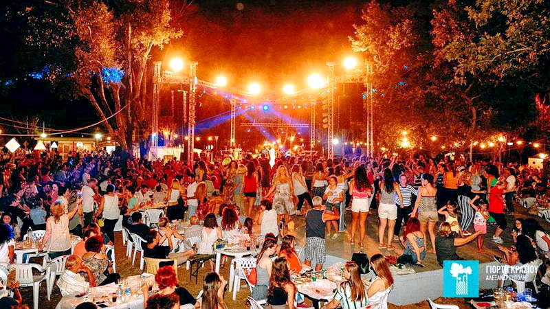 Ανοίγει τις πύλες της η Γιορτή Κρασιού Αλεξανδρούπολης