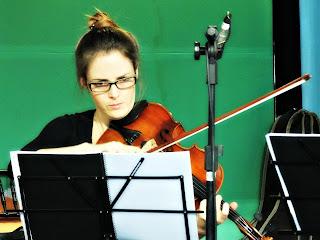 Quarteto de Cordas da Orquestra da Unisinos - Maria Fernanda Canabarro (viola)