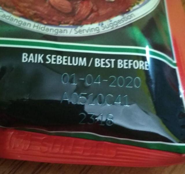 Beza Label Guna Sebelum dan Baik Sebelum Pada Produk Makanan