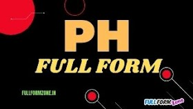 पीएच PH Full Form in Hindi - Potential of Hydrogen