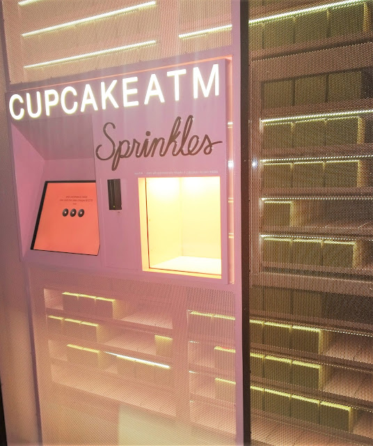 Travel Guide Dallas Texas Sprinkles Cupcake ATM