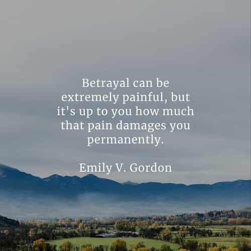 Betrayal quotes that'll tell you more about being betrayed