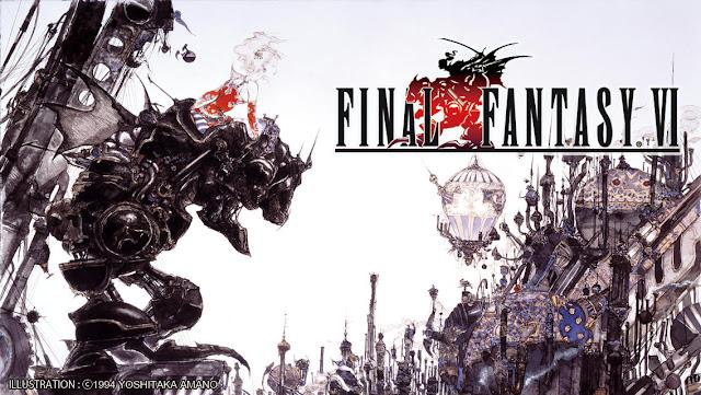 Final Fantasy VI em segundo lugar.