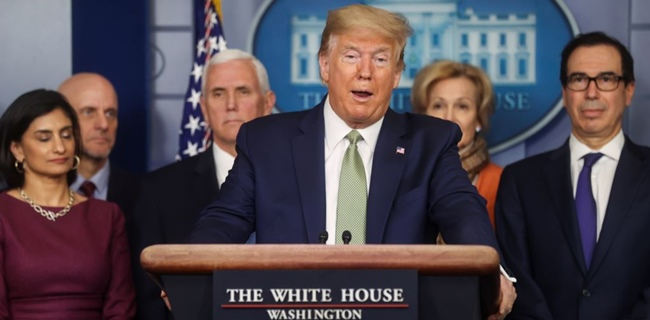 Trump Berseru Kita Akan Menang, Pengamat: Itu Bentuk Pengakuan Wabah Ini Terlalu Banyak Tantangan