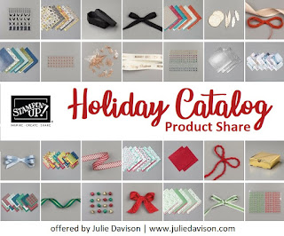 Stampin' Up! 2019 Holiday Catalog Product Share ~ Offered by Julie Davison, www.juliedavison.com