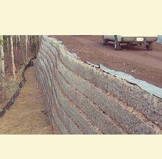الجدار المستقر ميكانيكيا Mechanically Stabilized Earth (MSE) Retaining wall