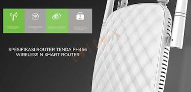 Spesifikasi Router Tenda FH456