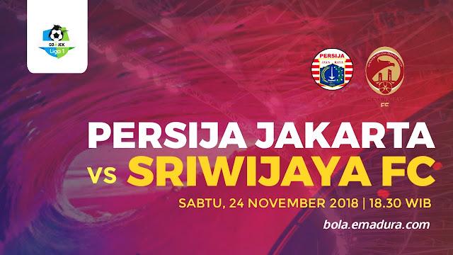 Ini Harga Tiket Persija Vs Sriwijaya Fc 24 November 2018