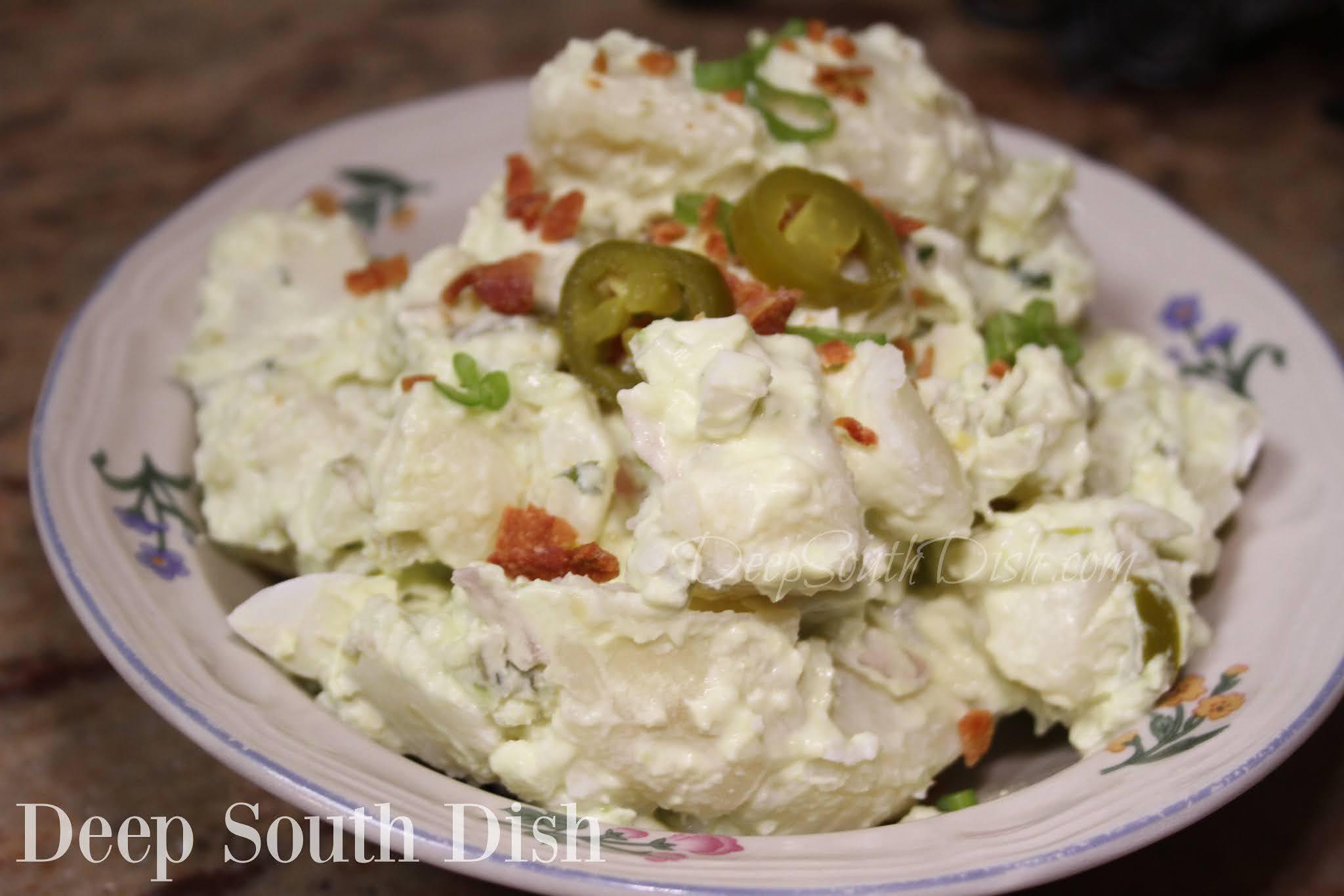 Sour Cream Avocado Potato Salad