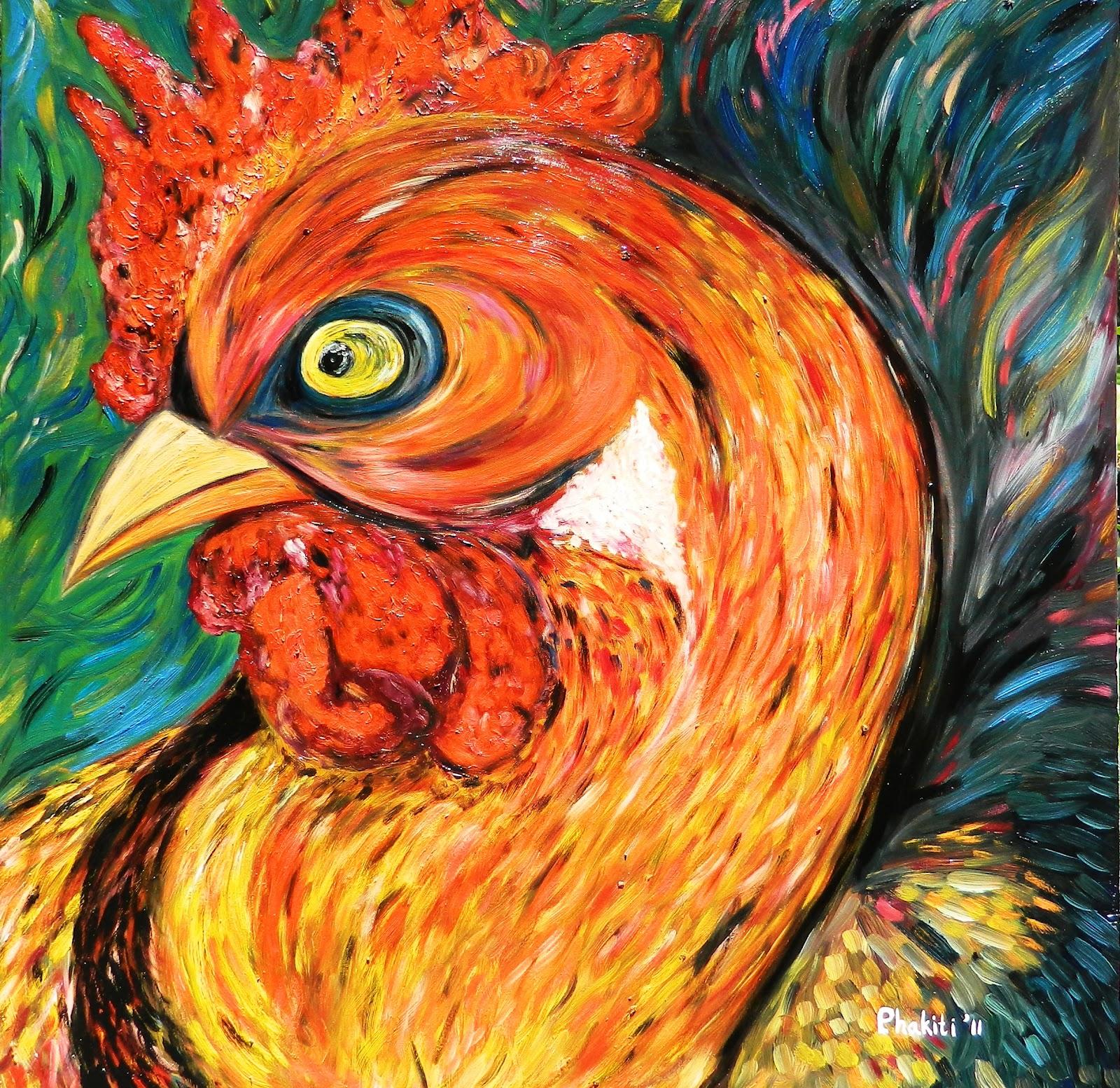 Artist Aek Phakiti: Aek Phakitis First Art Exhibition