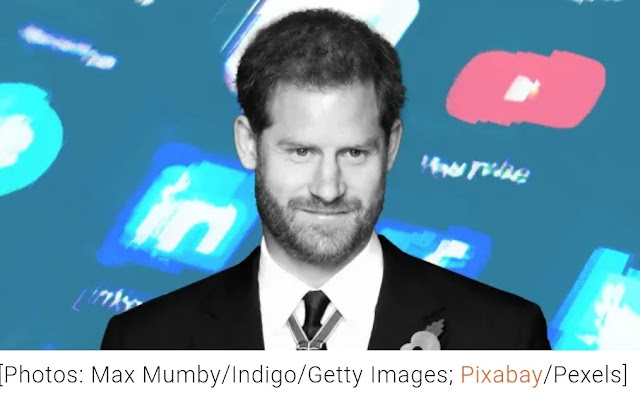 Prince Harry has penned an essay about the need for more compassionate (and intelligent) use of social media. It was published today  on the Fast Company website.
