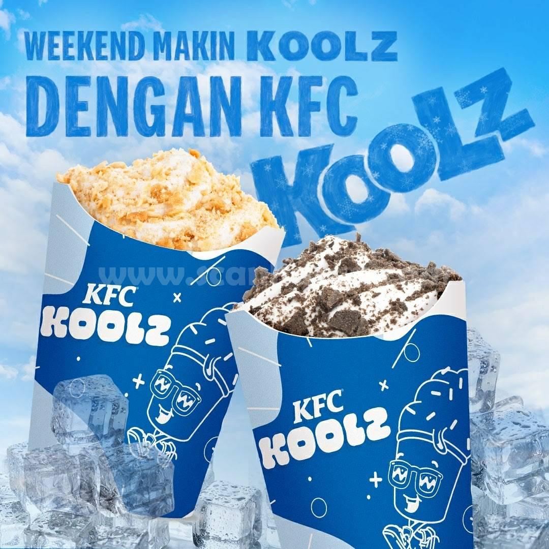 KFC Promo KFC KOOLZ Harga mulai Rp. 13 Ribuan Aja