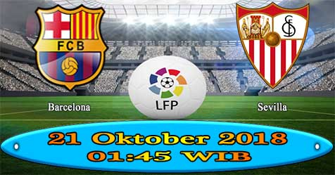 Prediksi Bola855 Barcelona vs Sevilla 21 Oktober 2018