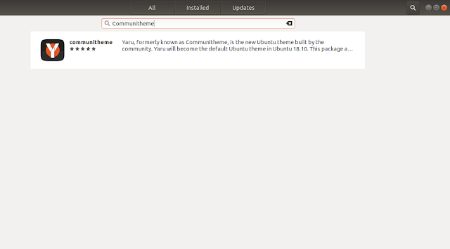 install theme yaru di ubuntu