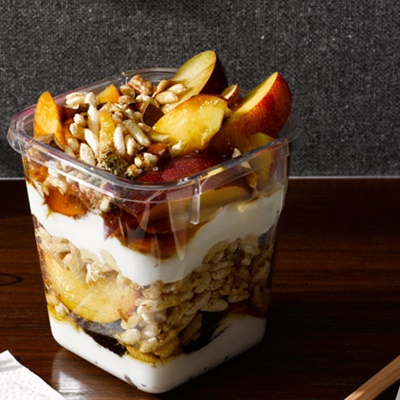Greek Yogurt Fruit Parfait