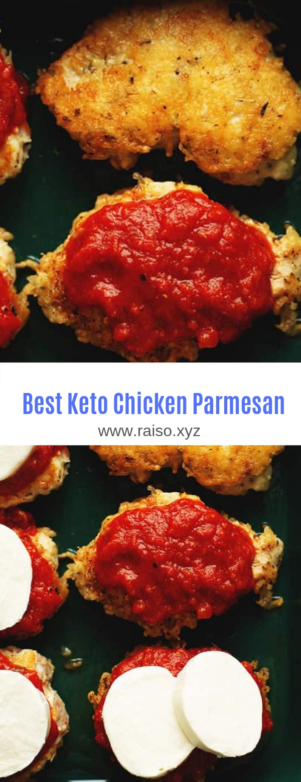 Best Keto Chicken Parmesan